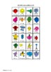 Guess Who Cards - Mr Men Characters - Board Game Set - Roger Hargreaves