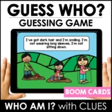 Guess Who? BOOM CARDS™ – Descriptive Language Digital Gues