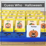 Guess Who Halloween Game Companion