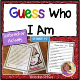#StartFreshBTS Guess Who I Am Differentiated Icebreaker Activities: