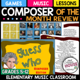 Music Composer Game - Guess Who!