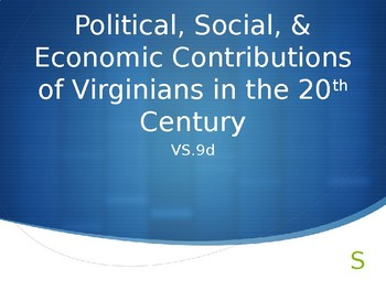 Guess Who Important Virginians Powerpoint VS.9b & VS.9d