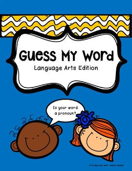 Guess Who - Language Arts Edition