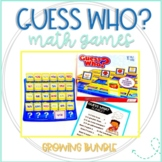 Guess Who Math Games Growing Bundle