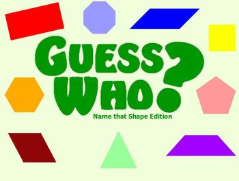 Guess Who - Name that Shape Edition