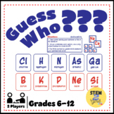 Guess Who? Periodic Table & Atomic Structure Review Game