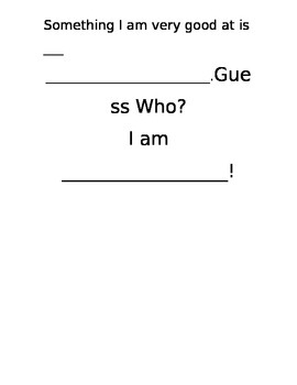Guess Who Poem