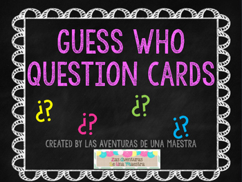 Guess Who Question Game