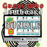 Guess Who Word Game Bundle   Jamboard™