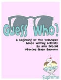 Guess Who- Writing activity for Open House