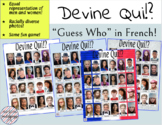 Guess Who in French - Devine Qui!?
