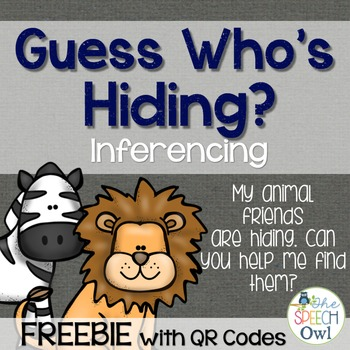 FREEBIE: Guess Who's Hiding: Inferencing