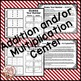 "Christmas Math Center ""Multiplication Game"""