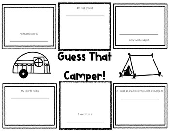 Guess that Camper!