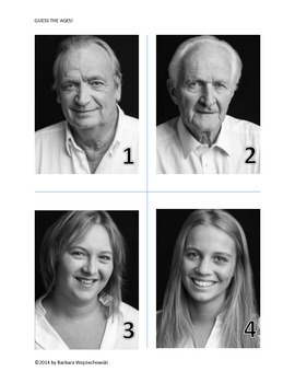 Guess the Ages!  An introductory activity for Statistics Classes