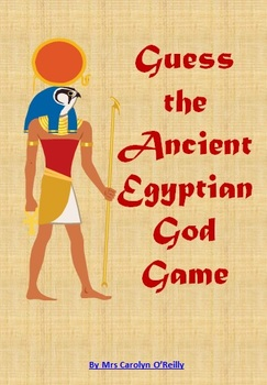 Guess the Ancient Egyptian God Game - 'Guess Who' style re