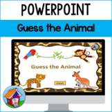 Guess the Animal PowerPoint Game -- Distance Learning