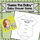 Guess the Baby!  {Baby Shower Game!}
