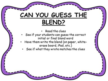 Guess the Blend