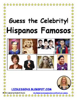 Guess the Celebrity! Hispanos Famosos!