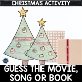 Guess the Christmas Movie, Song or Book Holiday Craft, Act