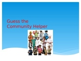 Guess the Community Helper Game PowerPoint