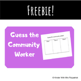 Guess the Community Worker Riddles