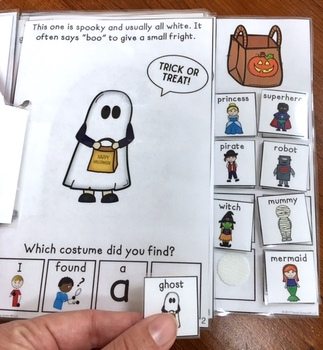 Guess the Costume: An Interactive & Adaptive Book