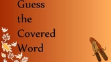 Guess the Covered Word: Ancient Egyptians