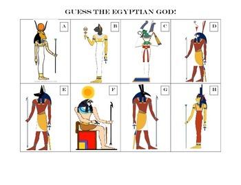 Guess the Egyptian God