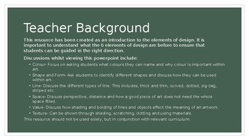 Guess the Elements of Design