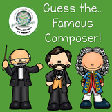 Guess the Famous Composer! Music Game ~ Great for Centers & Stations!