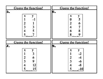 Guess the Function!