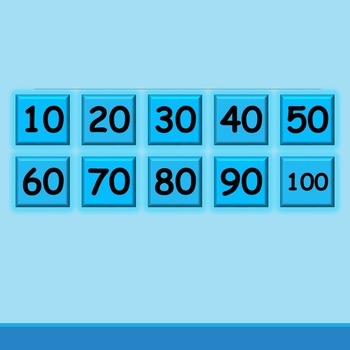 Guess the Hidden Number! Skip Counting (Missing Number Practice; Counting by 10)