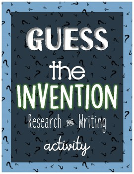 Guess the Invention