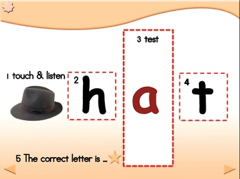 Guess the Mystery Letter - Animated Step-by-Step Literacy