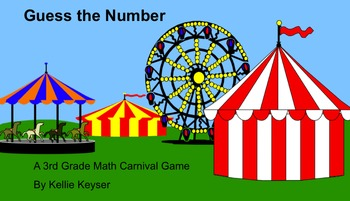 Guess the Number Carnival Game - Place Value Review