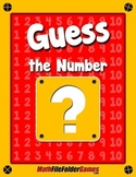 Guess the Number {Place Value Game}