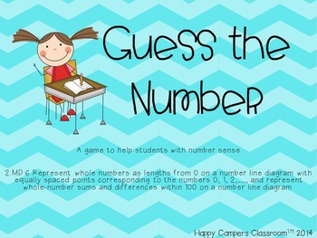 Guess the Number - Using a Number Line
