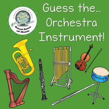 Guess the Orchestra Instrument! Music Game ~ Great for Centers & Stations!