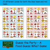 Guess the Party - A Food Guess Who Game