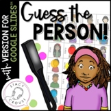 Guess the Person Questions Game for Google Drive™ No Print