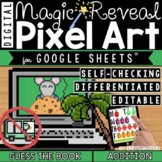 Guess the Picture Book Digital Pixel Art Magic Reveal ADDITION