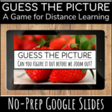Guess the Picture Distance Learning Game for Zoom