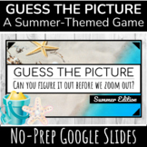 Guess the Picture | Digital Summer Game | End of Year Activity