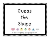 Guess the Shape SMART Board Lesson