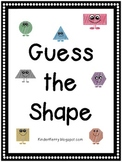 Guess the Shape Book