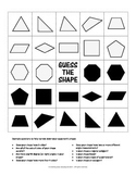 """Guess the Shape - a """"Guess Who"""" style game for Polygons"""