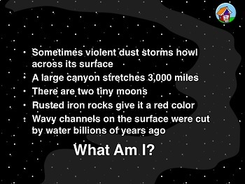 Guess the Solar System