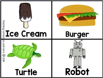 Guess the Word Picture Cards